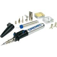 Plynová páječka Dremel VersaTip 2000-6 Hobby, 1200 °C, s příslušenstvím, F0132000KA + plechový box