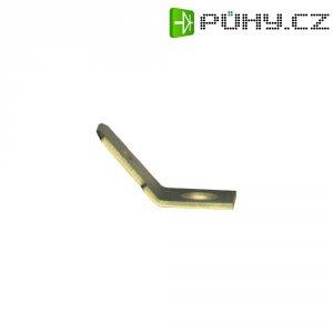 Jazýčkový konektor neizol. Vogt 3823.67, 0,8 mm, 45 °, 4,3 mm, kov