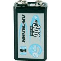 Akumulátor Ansmann 9 V, NiMH, 270 mAh