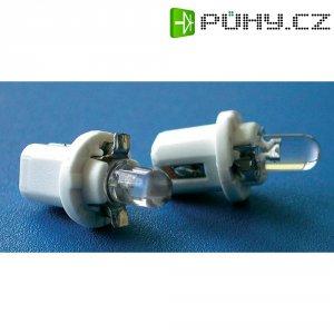 LED žárovka pro osvětlení přístrojů Eufab, 13481, 2 W, B8.5d, bílá, 2 ks