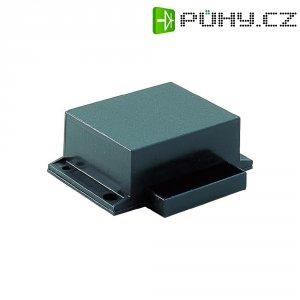 Plastové pouzdro Strapubox, (š x v x h) 53,5 x 23 x 45 mm, černá