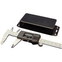 Univerzální pouzdro ABS Hammond Electronics, (d x š x v) 120 x 65 x 40 mm, černá