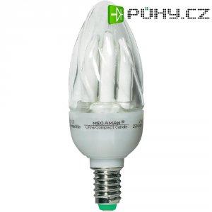 Úsporná žárovka svíčka Megaman Ultra Candle Clear E14, 9 W, teplá bílá