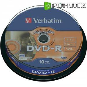 Verbatim DVD-R 4,7GB 16X 10 ks SP LIGHT