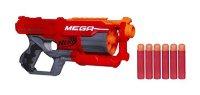 Pistole NERF MEGA CYCLONESCHOCK s rotačním zásobníkem