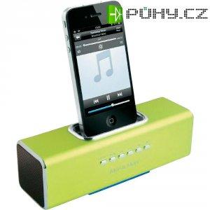 Dokovací sound stanice Technaxx MusicMan R pro iPod,iPhone, zelená