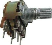 10k/G, WH148, hřídel 6x15mm, potenciometr otočný s vypínačem