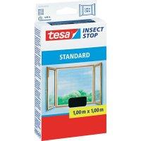 Síť proti hmyzu do okna Tesa Standard, 55670-21, 1 x 1 m, antracit
