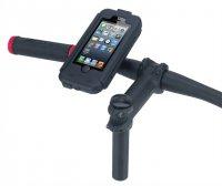 Držák BikeConsole pro iPhone 5 na kolo nebo motorku na řídítka pro uchycení telefonu