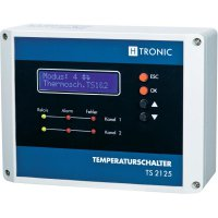 Multifunkční teplotní spínač H-Tronic TS 2125, -55 až 125 °C