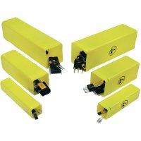 Ochranná krabička (ESD) 26 x 26, vnitřní díl, žlutá