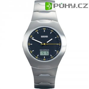 Ručičkové náramkové DCF hodinky Eurochron EFAU 2400, pásek z nerezové oceli