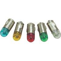 LED žárovka BA7s Barthelme, 70112866, 12 V, 1 lm, zelená