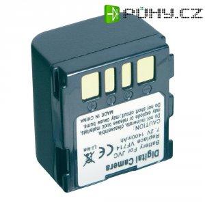 Li-Ion akumulátor pro kamery, 7,2 V, 1400 mAh, tmavě šedá