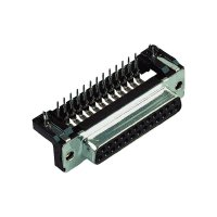 D-SUB kolíková lišta Harting 09 66 162 6811, 9 pin, úhlová