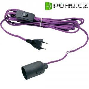 Připojovací kabel Konstsmide, 5 m, fialová