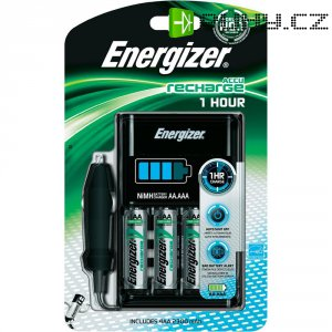 Nabíječka Energizer 1 h + 4x AA 2300 mAh