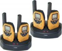 Sada 4 PMR radiostanic DeTeWe Outdoor 8000 Quad Case s kufříkem