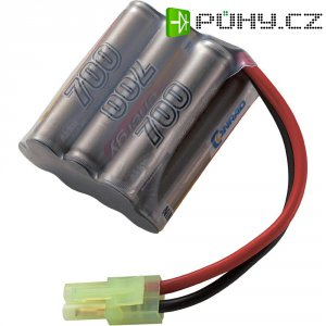 Akupack NiMH (modelářství) Conrad energy, 8.4 V, 700 mAh, zásuvka mini Tamiya