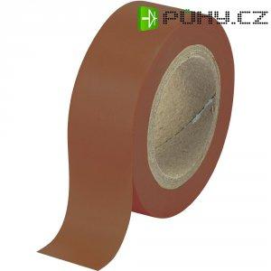 Izolační páska 540915BN, 93014c597, 19 mm x 10 m, hnědá