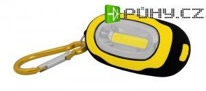 Svítilna ruční TIROSS 1W s magnetem