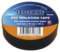 Izolační páska PVC 19/20m černá