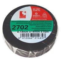 Izolační páska samozhášecí 10m černá