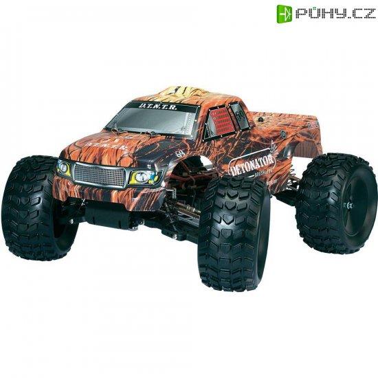 RC model Brushless Monster truck Reely Detonator EB-250MT, 1:10, 4WD, RtR 2.4 GHz - Kliknutím na obrázek zavřete