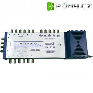 Satelitní multipřepínač, EuroSky MS 516 C, 5 vstupů, 16 výstupů