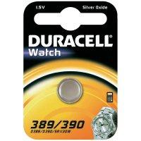 Knoflíková baterie 389, Duracell SR54, na bázi oxidu stříbra, DUR953141