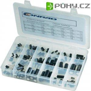 Praktický sortiment elektrolytických kondenzátorů