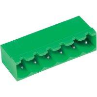 Svorkovnice horizontální PTR STL950/4G-5.0-H (50950045001F), 4pól., zelená