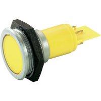 LED signálka Slimline Signal Construct SMFP30H0249, červená