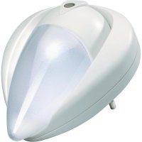 Noční LED svítidlo, NL-197-WH, 0,5 W, bílá/bílá