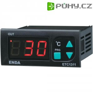 Panelový termostat Enda ETC1311-FE-230