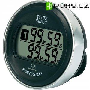 Digitální časovač Renkforce Double Rotation, max. 99 min 59 s, QTM1059, černá