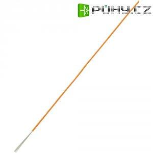 Licna LiY SH1998C358, 1x 0,22 mm², PVC, Ø 1,20 mm, 10 m, oranžová