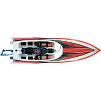 Elektro model člunu Traxxas Spartan, RtR, 1037 x 243 mm