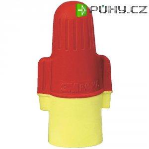 Svorka 3M, 80-6109-8431-4, 2 - 16 mm², 2pólová, červená/žlutá