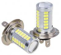 Žárovka LED H7 10-30V, bílá, 6xLED CREE XP-E