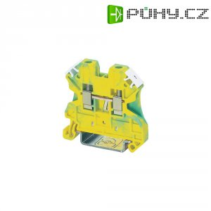 Svorka s ochr. vodičem Phoenix Contact UT 10-PE (3044173), šroubovací, 10,2 mm, zel.žlutá