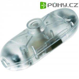 Šňůrový vypínač interBär , 1pólový, 250 V/AC, 2 A, průhledná