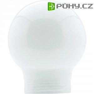 Stínítko pro žárovku Globe 60, skleněné, kulatý tvar, opál