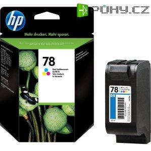 Toner do tiskárny HP C6578AE (78) barevná veliká