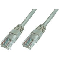 Síťový kabel RJ45 Digitus Professional DK-1614-010, CAT 6, U/UTP, 1 m, šedá