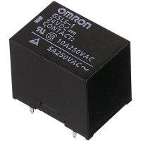 Krabičkové relé Omron, G5LE-1-VD 12 VDC, cca 400 mW, 8 A, (DC) 8 A/(AC) 10 A , 125 V/DC/250 V/AC 30 V/DC/8 A/250 V/AC/10 A
