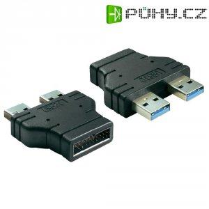 Adaptér USB 3.0, černý