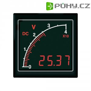 DC voltmetr s bargrafem Trumeter APMDCV72-NTR