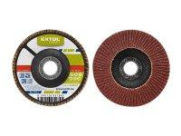 Kotouč lamelový šikmý korundový, P60, 115mm, KORUND, EXTOL CRAFT 260006
