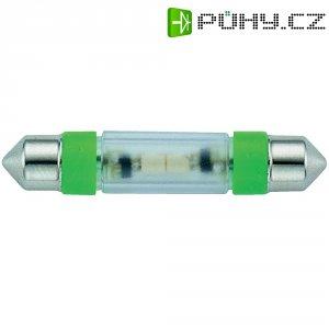 LED žárovka Signal Construct MSOE083974, 24 V DC/AC, ultra zelená, podlouhlá